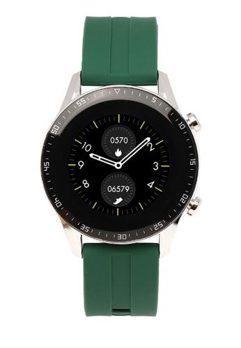 Milliot & Co. green Magnus Smartwatch C4EF0ACF303E49GS_1