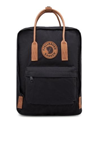Fjallraven Kanken black Black Kanken No. 2 Backpack FJ859AC76GTJSG_1