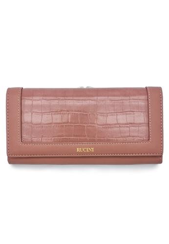 RUCINI purple Rucini Ladies Long Bi-Fold Kiss Lock Wallet DF6C8AC683A22EGS_1