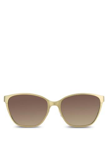 金esprit 高雄屬方框太陽眼鏡, 飾品配件, 飾品配件