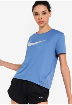 best service 3183b 89a3a Nike blue Nike Miler Top 5CCB3AA5252EA0GS 1