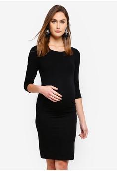 b7cd15bf8455c Seraphine black Tessa Maternity Shift Dress EEAE4AA1CACDE6GS_1