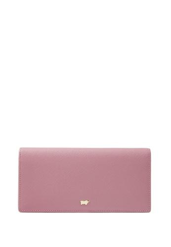 Braun Buffel pink Faye 2 Fold Long Wallet 7C6CFACC1141B0GS_1
