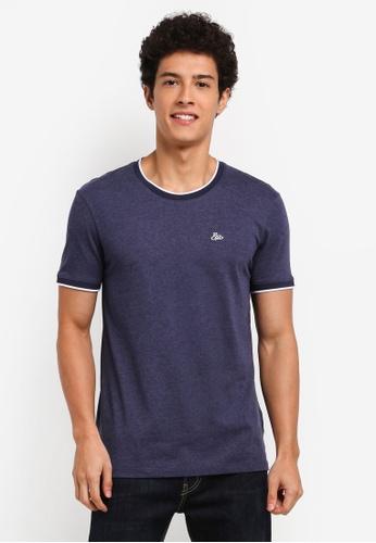 ESPRIT navy Short Sleeve T-Shirt 8201DAA7D3FE40GS_1
