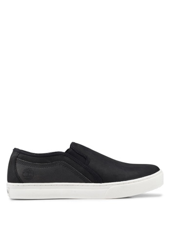 Timberland black Dauset Slip-Ons A9ACBSH53F8A09GS_1