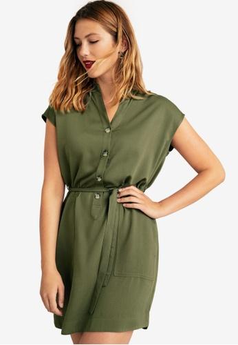 3e67e04d6ded4 Buy Violeta by MANGO Plus Size Buttoned Dress Online   ZALORA Malaysia