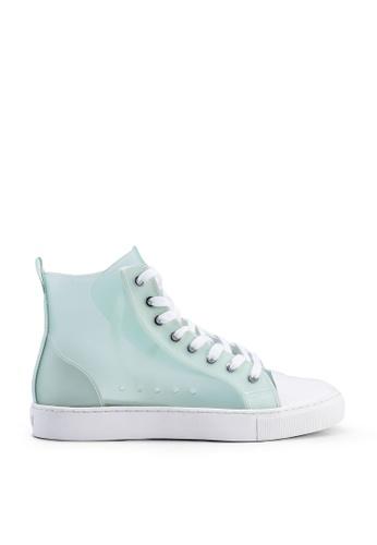 ALDO 綠色 Frosty High Top Sneakers E9060SH0C35A00GS_1
