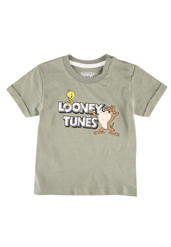 FOX Kids & Baby green Baby Boys Looney Tunes Print Tee AF7B1KAE76EEB3GS_1