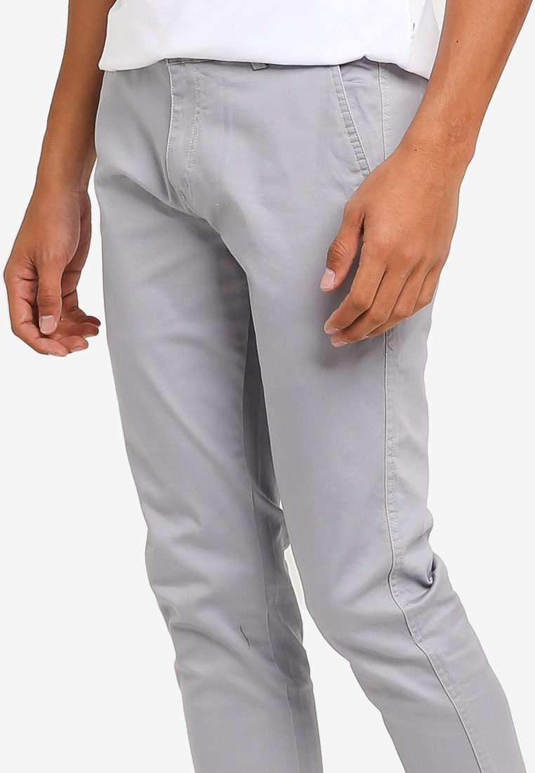 424 Fit Grey Pants Chino Slim Fidelio qax5wOqr