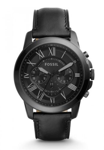Fossil  GRANT時尚男錶 FS5132, 錶esprit outlet 旺角類, 紳士錶