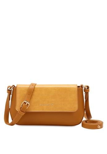 PLAYBOY BUNNY brown Women's Sling Bag / Shoulder Bag / Crossbody Bag F1222ACD04376EGS_1