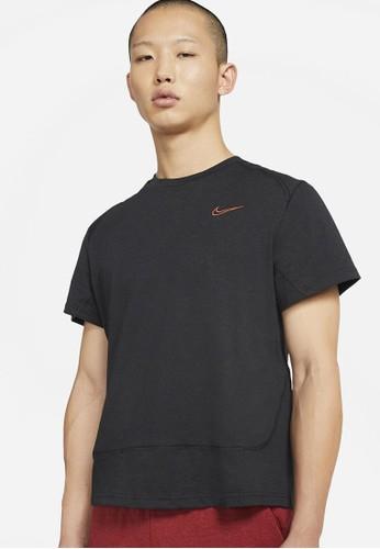 Nike black AS Men's Short-Sleeve Training Top PX E87D6AA9513041GS_1