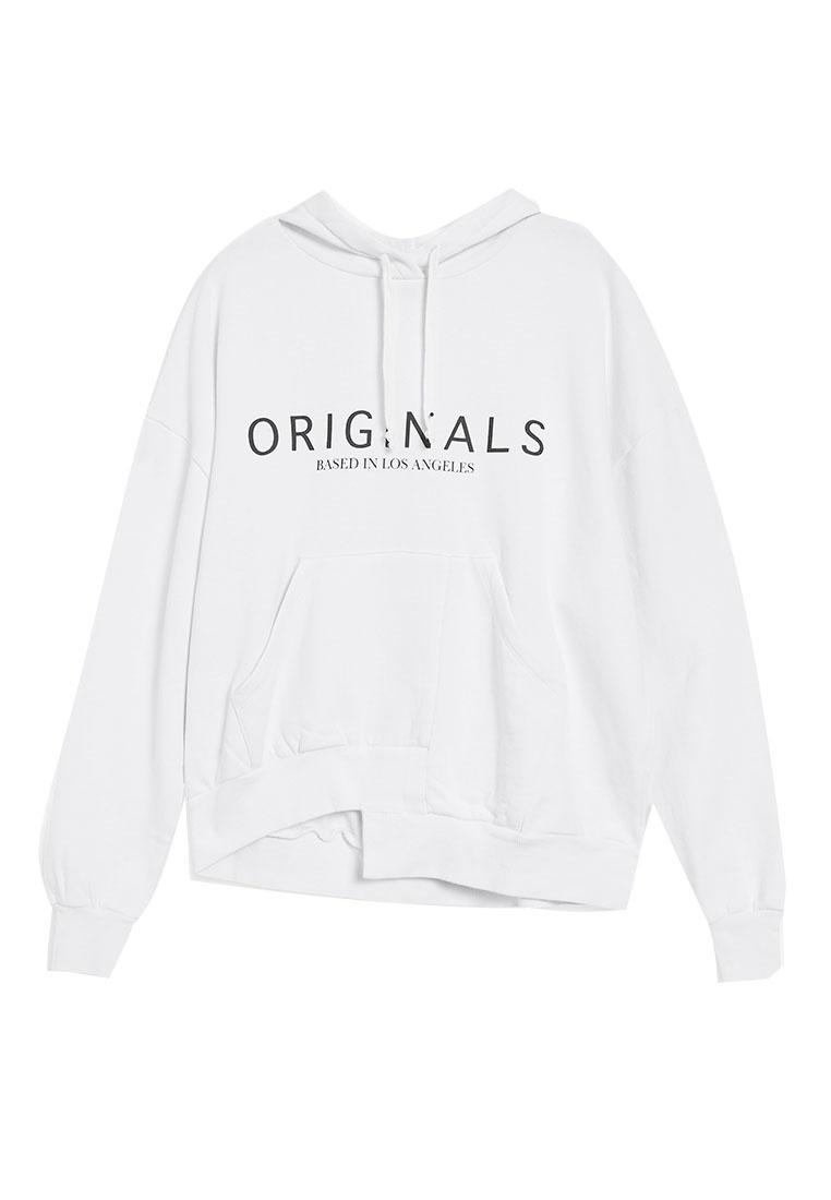 Originals White Hoodie Logo Originals TOPSHOP Logo 58wRSR
