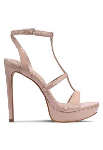 ALDO 米褐色 厚底高跟鞋 2E6E6SH1DD140AGS_1