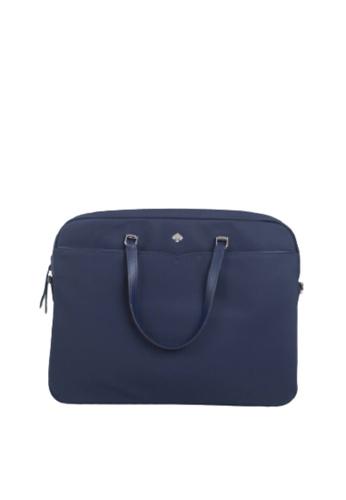 Kate Spade blue Kate Spade Universal Jae WKRU6618 Laptop Bag In Nightcap 54081ACAD8596AGS_1