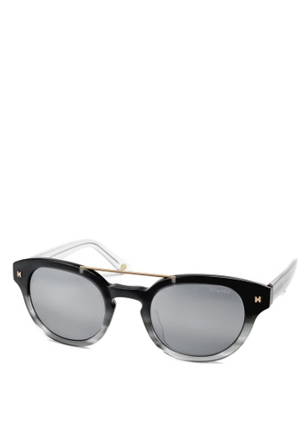 HEX EYEWEAR black and grey Doctor - Albert S. - Sunglasses - Italy Design HE671AC2V1JQHK_1