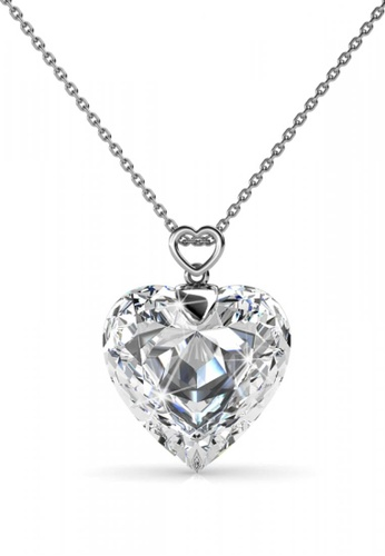 Her Jewellery silver Her Jewellery Cheery Heart Pendant with Necklace Chain with 18K Gold Plated C7577AC9339DB5GS_1