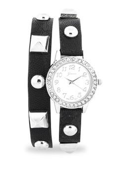 Stud Wraparound Watch