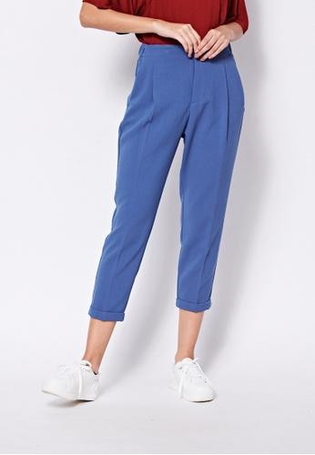 United Colors of Benetton blue Regular Fit Pants 257B6AAAA50E45GS_1