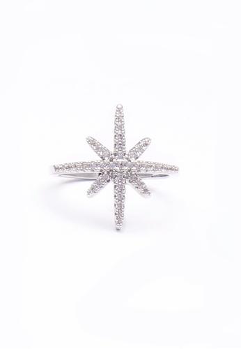 Urban Outlier silver Micro-Zircon Mist Ring E6D35AC404BE91GS_1