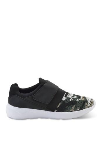 軍迷彩布魔鬼粘鞋, 鞋, 懶人esprit地址鞋