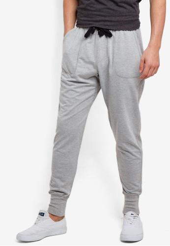 Cotton On 灰色 修身運動褲 3C55FAAF08AF94GS_1