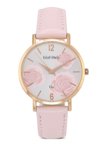GO pink Florale Watch 1B139AC1BEF304GS_1