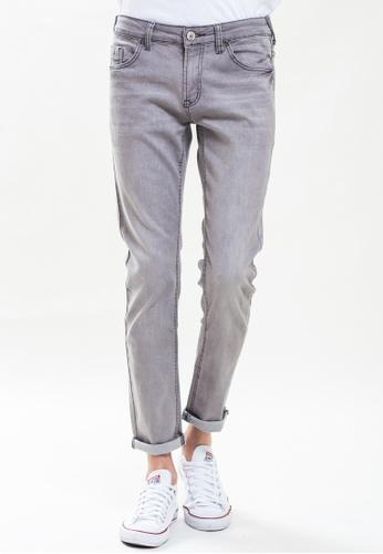 Drum grey Slim Fit Dirt Grey Jeans DR425AA0S50TMY_1
