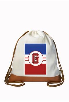 Drawstring Bag Sporty Initial G