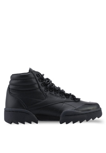 Reebok 黑色 and 白色 and 金色 經典Gigi Hadid X Reebok F/S Hi Nova Ripple 運動鞋 67E83SHFB68539GS_1