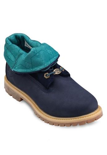 Timberland Women's Authentics 翻領靴, 女esprit 品牌鞋, 鞋