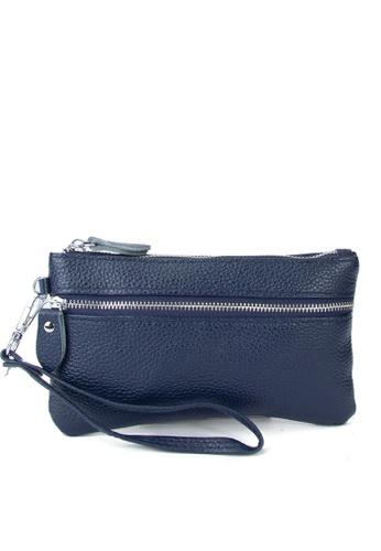 HAPPY FRIDAYS Stylish Litchi Grain Leather Clutch Bag JN2021 C2BAEAC322CE94GS_1