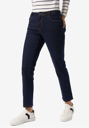 Dorothy Perkins blue PETITE Indigo Slim Ellis Jeans 7A006AA652F6FFGS_1