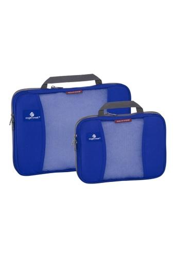 Eagle Creek blue Eagle Creek Pack-It Compression Packing Cube Set (Blue Sea) 62797AC85D8BE6GS_1