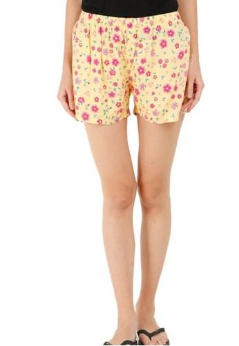 BarBar yellow Daisy Women Short Pants BXRGRLS-07704-D E2FF2AAD9C0382GS_1