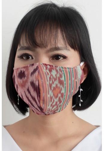 DhieVine Batik multi Facemask TENUN IKAT RANDOM TWOTONE arloop(3PCS) 7870FES324FBD5GS_1
