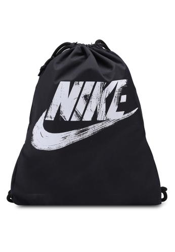 Nike Black And White Uni Heritage Gym Sack 2ff35acbcb0dc4gs 1