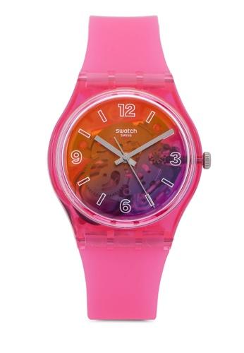 Swatch pink Orange Disco Fever Watch 79188ACD121167GS_1