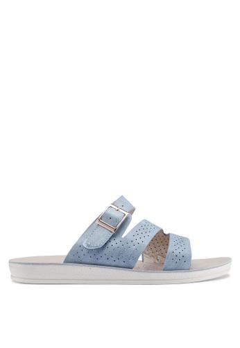 Noveni 藍色 休閒涼鞋 DE295SH9F0997DGS_1