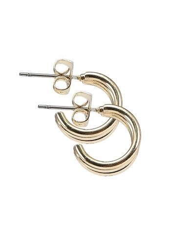 Pieces gold Pcnamah Earrings Box BA114ACA6EBEC5GS_1