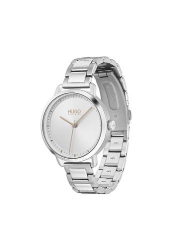 Hugo Boss silver HUGO Mellow Silver White Women's Watch (1540055) 0F2A3AC96308FEGS_1