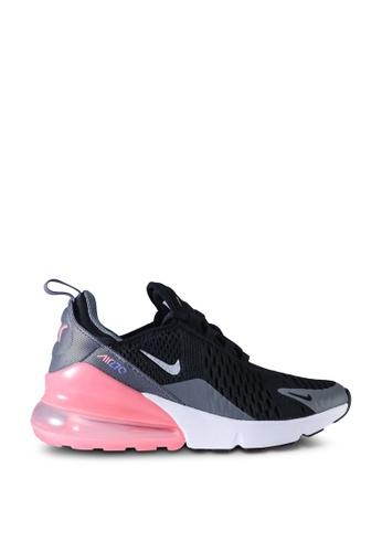 Nike black and grey Air Max 270  Sneakers 9FC9EKSC1F4D51GS_1