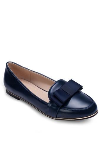 蝴zalora 內衣蝶結仿皮樂福鞋, 女鞋, 鞋