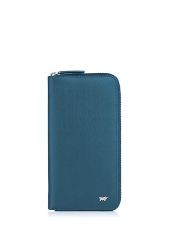 Braun Buffel green Homme-M Zip Long Wallet 2637DAC629E00CGS_1