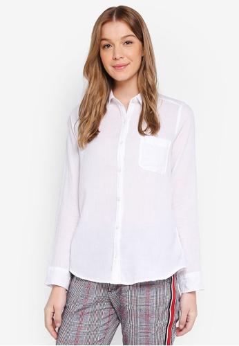 Hollister white Plaid Shirt 4FBFBAA62185F6GS_1