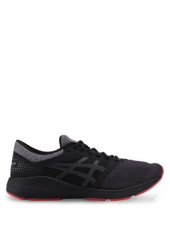 Asics black Roadhawk FF Shoes AS989SH0SVRVMY_1