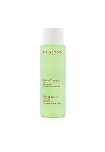 Clarins CLARINS - Toning Lotion with Iris - Combination or Oily Skin 200ml/6.7oz 6DF16BEFD1095DGS_1
