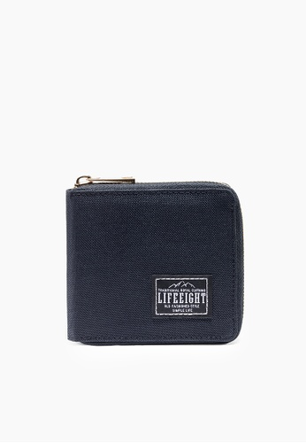 Life8 black Casual Zip Around Wallet-Black-06425 6ADC3ACD99D3F1GS_1
