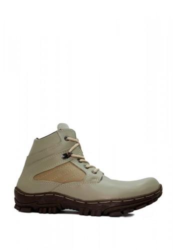 Cut Engineer grey Cut Engineer Safety Boots Cordura Genuine Leather Grey EDD22SH81A3D90GS_1