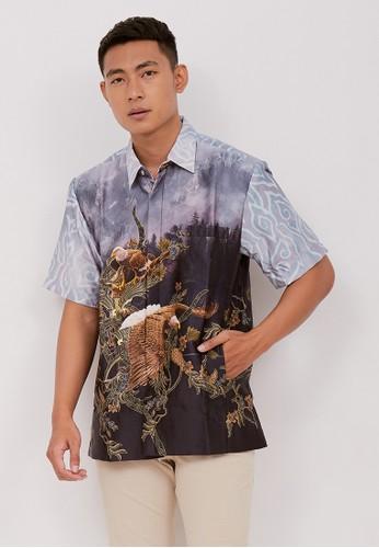 Batik Wibowo purple Utkarsa Batik Shirt 2FA53AADEAB8BCGS_1